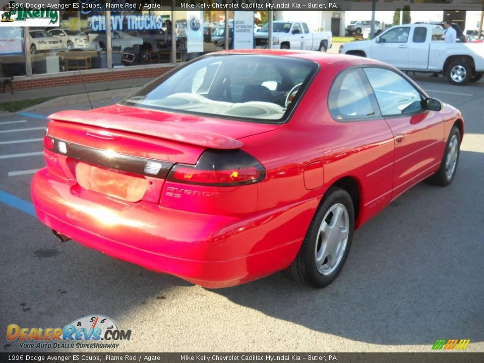 1996 dodge avenger es coupe flame red agate photo 3. Black Bedroom Furniture Sets. Home Design Ideas