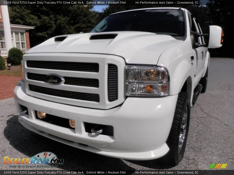 2006 Ford F250 Super Duty Tuscany FTX Crew Cab 4x4 Oxford White
