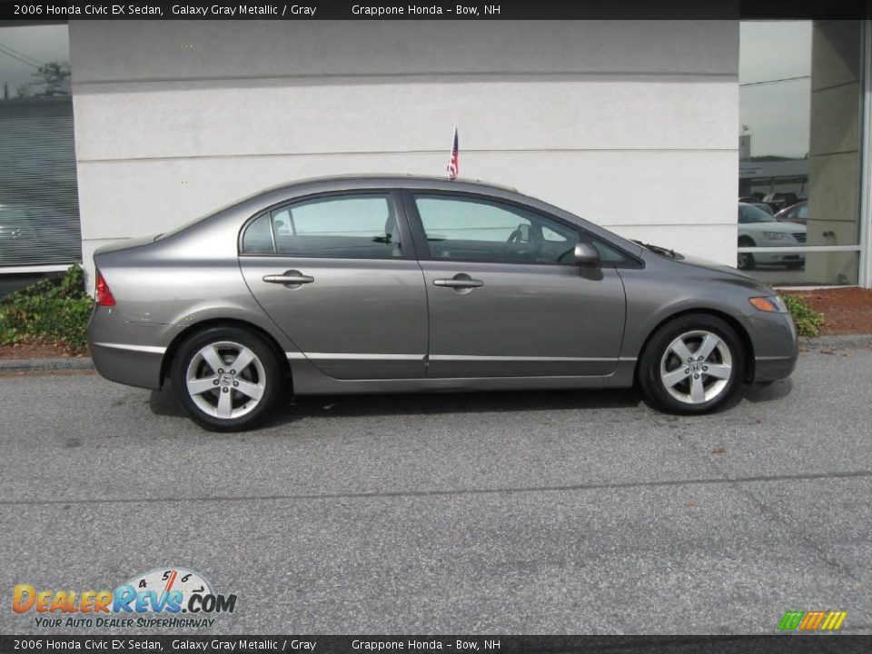 2006 honda civic ex sedan galaxy gray metallic gray. Black Bedroom Furniture Sets. Home Design Ideas