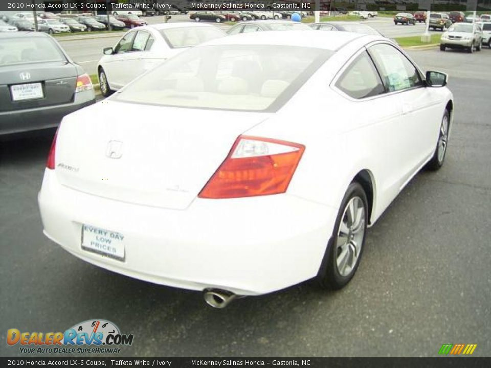 2010 honda accord lx s coupe taffeta white ivory photo. Black Bedroom Furniture Sets. Home Design Ideas