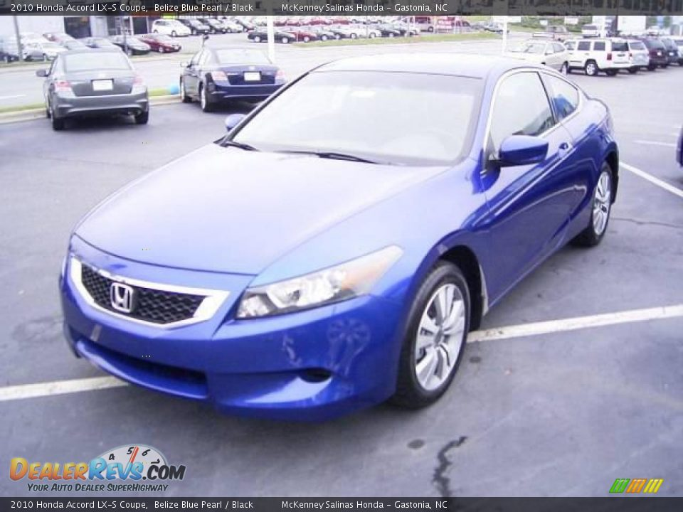 2010 honda accord lx s coupe belize blue pearl black photo 1. Black Bedroom Furniture Sets. Home Design Ideas