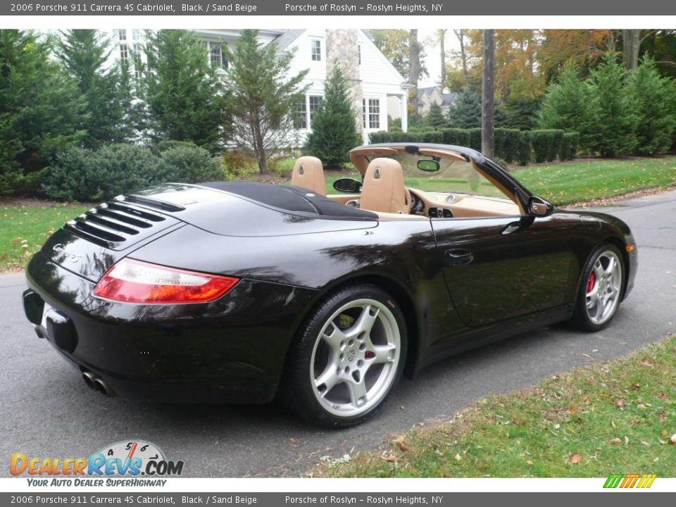 2006 porsche 911 carrera 4s cabriolet black sand beige. Black Bedroom Furniture Sets. Home Design Ideas