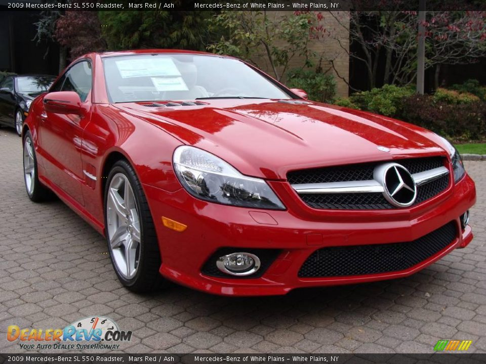 2009 mercedes benz sl 550 roadster mars red ash photo 3 for 2009 mercedes benz roadster