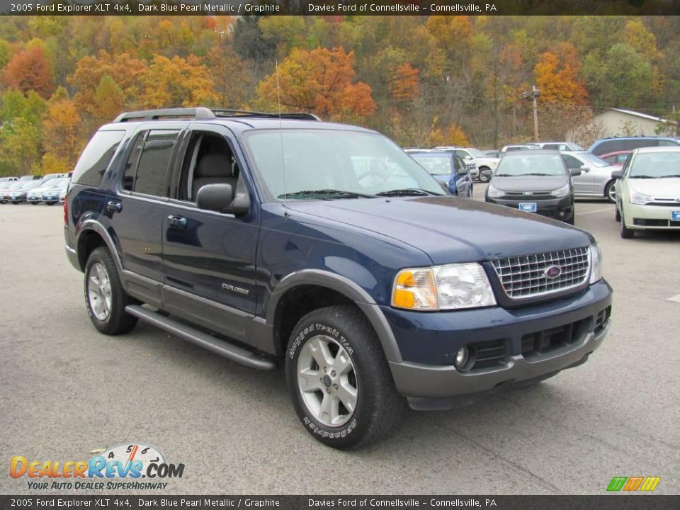 2005 Ford Explorer Xlt 4x4 Dark Blue Pearl Metallic