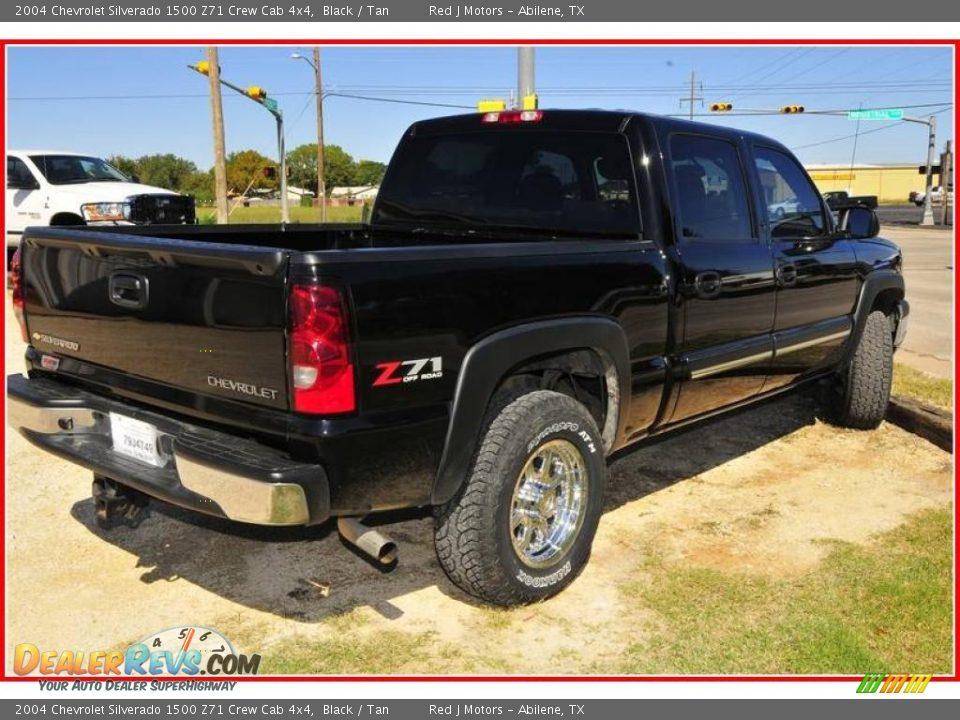 2004 chevrolet silverado 1500 z71 crew cab 4x4 black tan photo 7. Black Bedroom Furniture Sets. Home Design Ideas