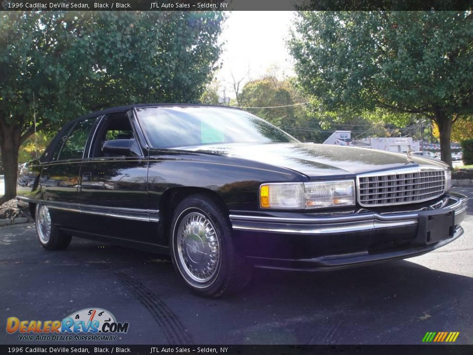 1996 Cadillac Deville Sedan Black Black Photo 7