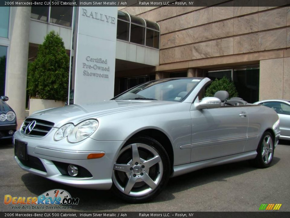 2006 mercedes benz clk 500 cabriolet iridium silver for 2006 mercedes benz clk 500