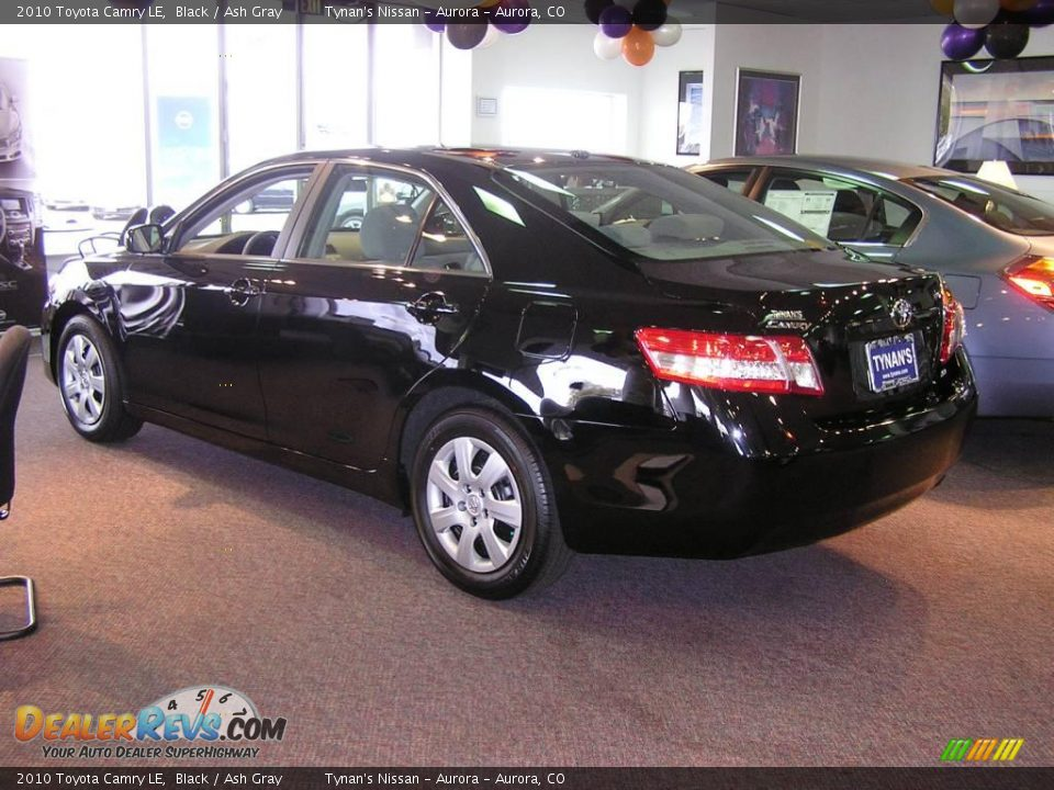 2010 Toyota Camry Le Black Ash Gray Photo 4