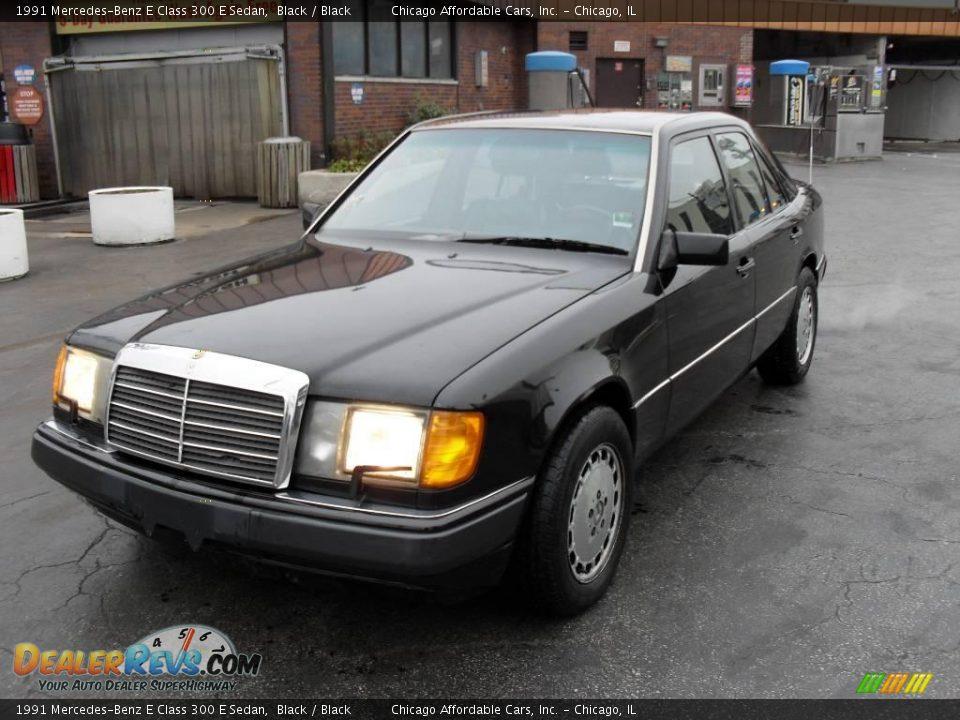 1991 mercedes benz e class 300 e sedan black black photo for Mercedes benz e class black