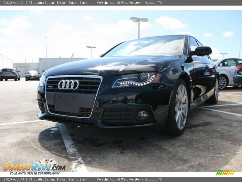 2010 audi a4 2 0t quattro sedan brilliant black black photo 1. Black Bedroom Furniture Sets. Home Design Ideas