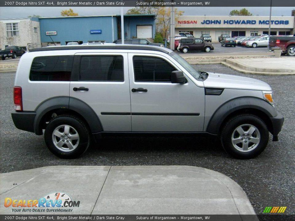 2007 Dodge Nitro Sxt 4x4 Bright Silver Metallic Dark