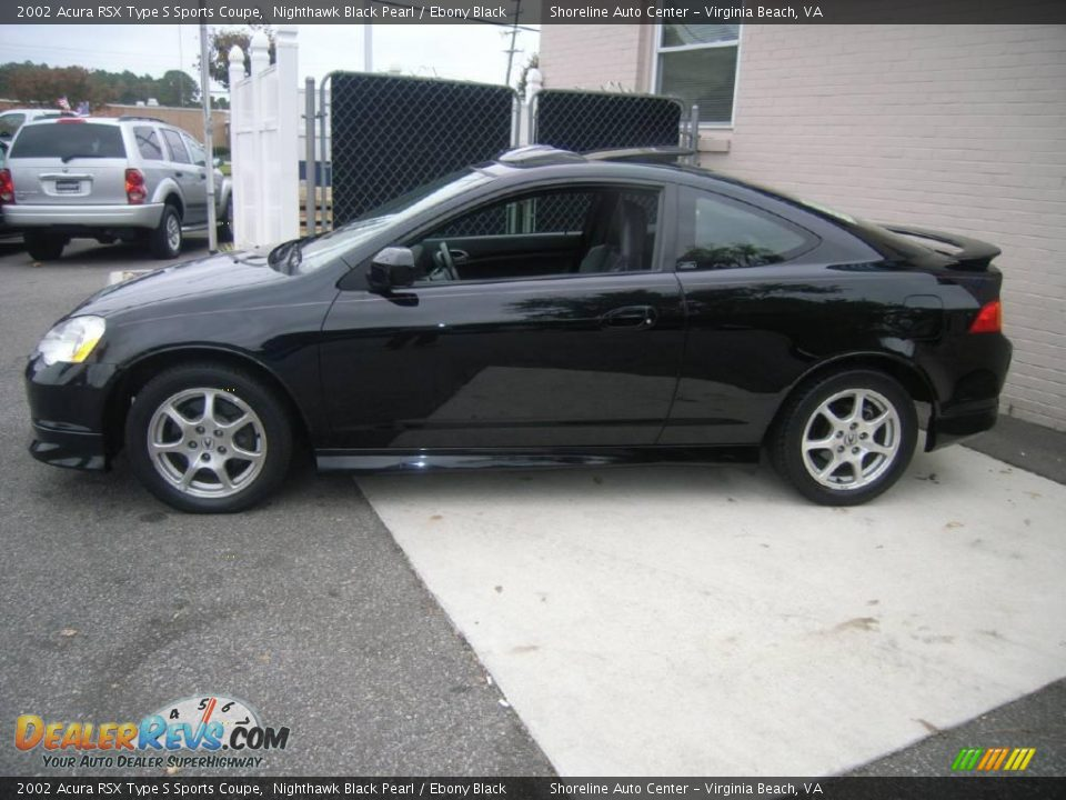 2002 Acura Rsx Type S Sports Coupe Nighthawk Black Pearl