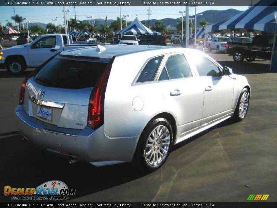 2010 Cadillac Cts 4 3 6 Awd Sport Wagon Radiant Silver