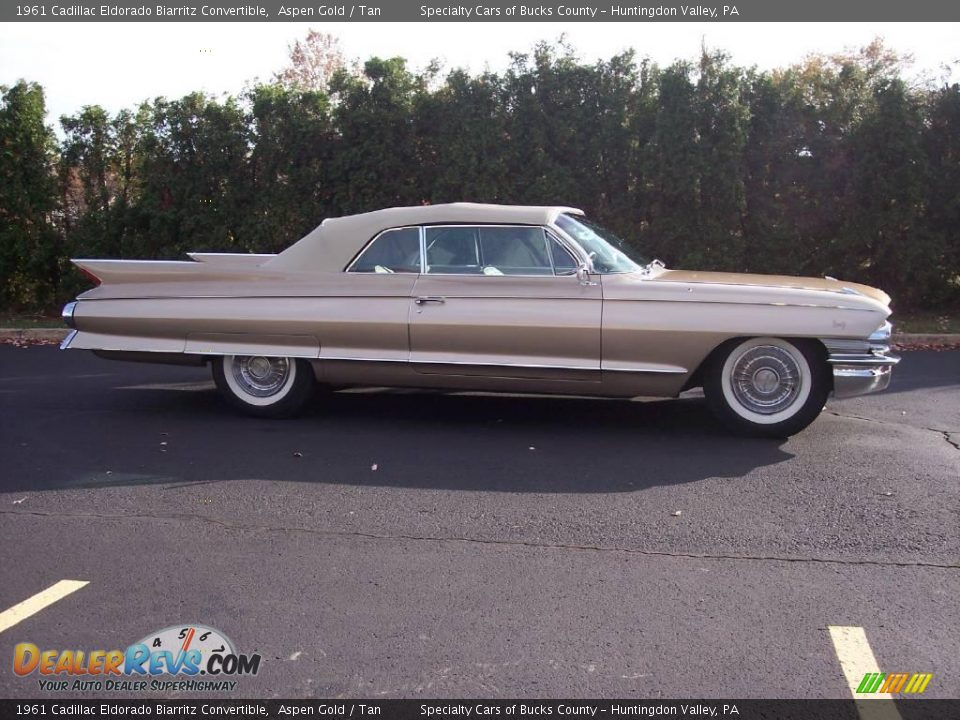 1961 Cadillac Eldorado Biarritz Convertible Aspen Gold