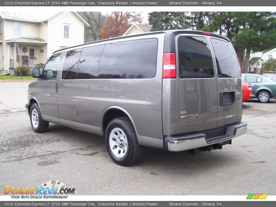2010 chevrolet express lt 1500 awd passenger van graystone metallic medium pewter photo 7. Black Bedroom Furniture Sets. Home Design Ideas