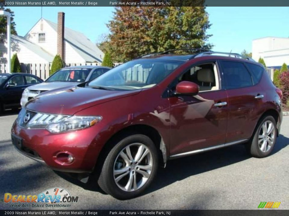 2009 nissan murano le awd merlot metallic beige photo 3. Black Bedroom Furniture Sets. Home Design Ideas