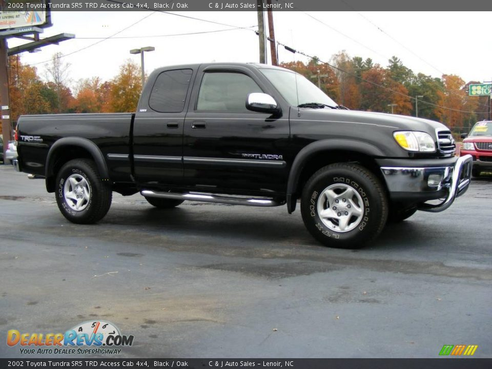 2002 toyota tundra sr5 trd access cab 4x4 black oak photo 10. Black Bedroom Furniture Sets. Home Design Ideas