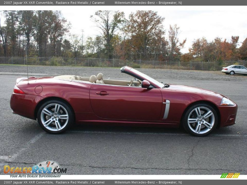 2007 jaguar xk xkr convertible radiance red metallic. Black Bedroom Furniture Sets. Home Design Ideas