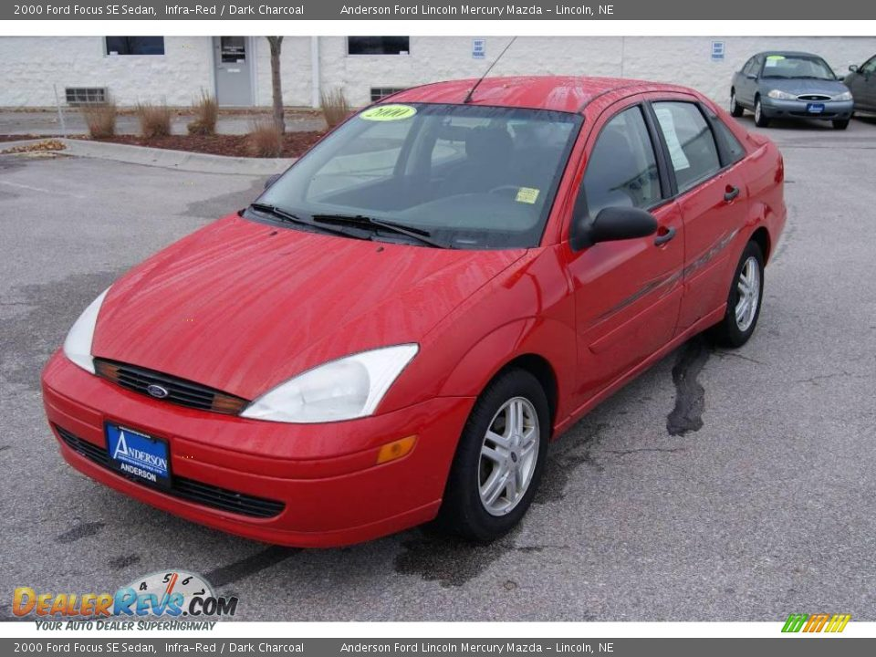 2000 ford focus se sedan infra red dark charcoal photo 7