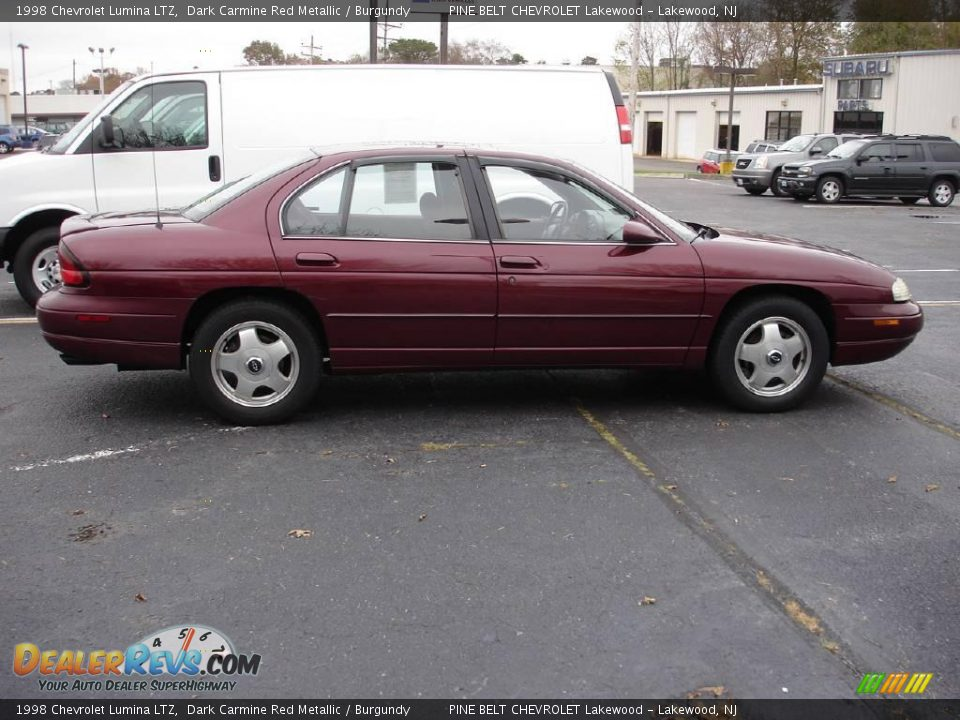 1998 Chevrolet Lumina Ltz Dark Carmine Red Metallic Burgundy