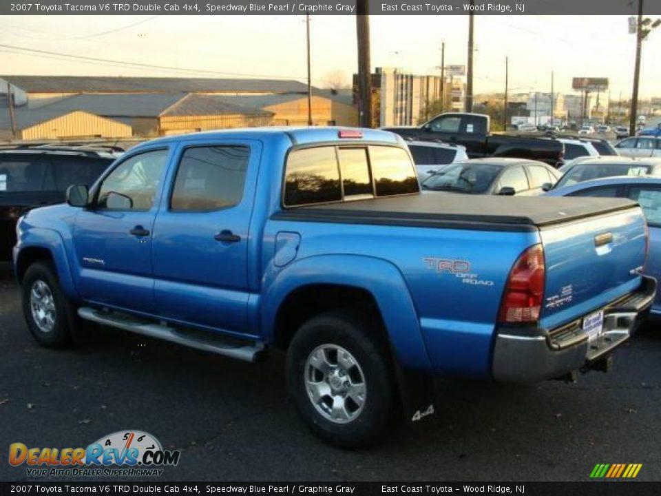 2007 Toyota Tacoma V6 Trd Double Cab 4x4 Speedway Blue
