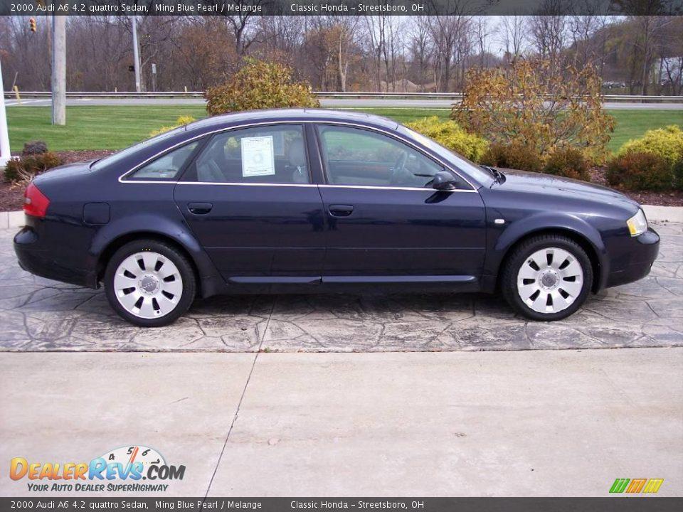 2000 Audi A6 4 2 Quattro Sedan Ming Blue Pearl Melange Photo 4 Dealerrevs Com