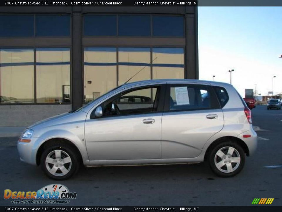 2007 chevrolet aveo 5 ls hatchback cosmic silver. Black Bedroom Furniture Sets. Home Design Ideas
