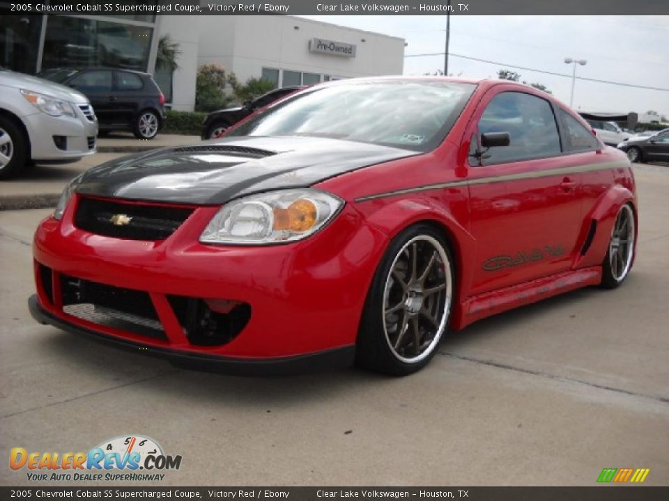 2005 chevrolet cobalt ss supercharged coupe victory red ebony photo 3. Black Bedroom Furniture Sets. Home Design Ideas