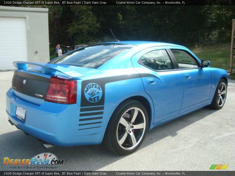 2008 Dodge Charger Srt 8 Super Bee B5 Blue Pearl Dark