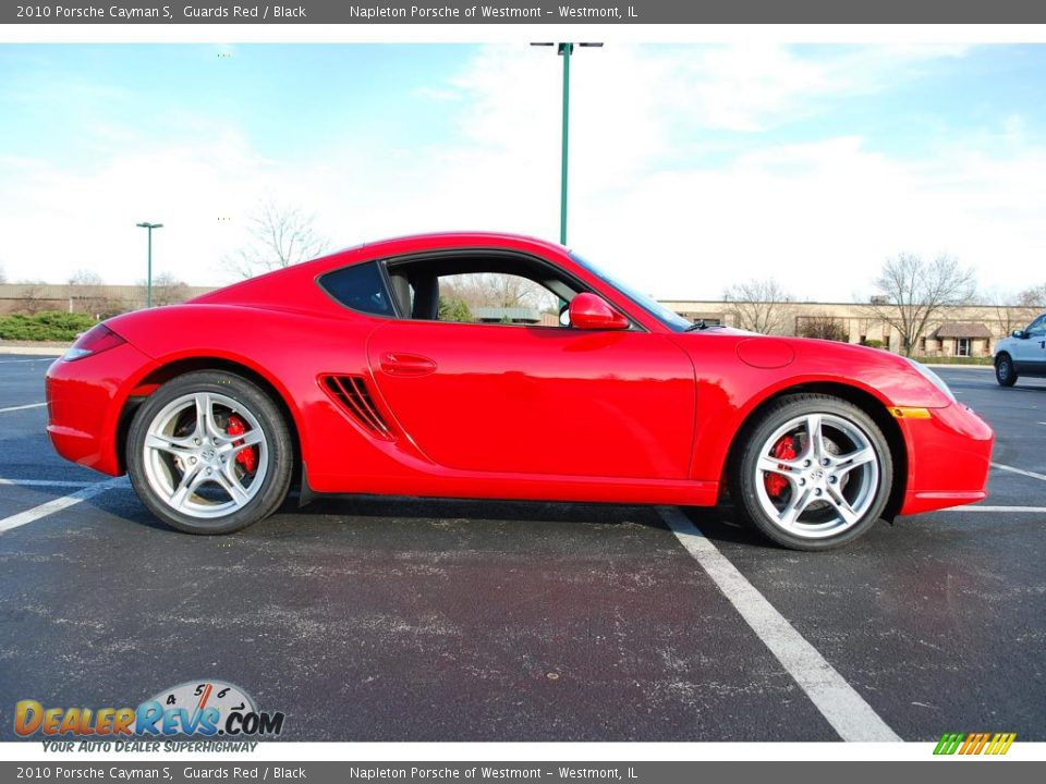 2010 porsche cayman s guards red black photo 4. Black Bedroom Furniture Sets. Home Design Ideas