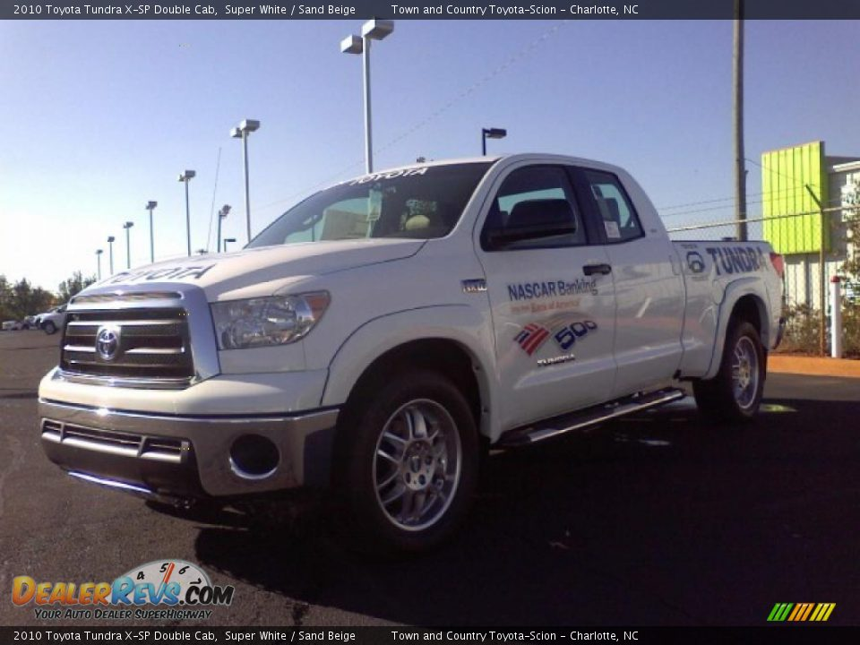 2010 toyota tundra x sp double cab super white sand. Black Bedroom Furniture Sets. Home Design Ideas