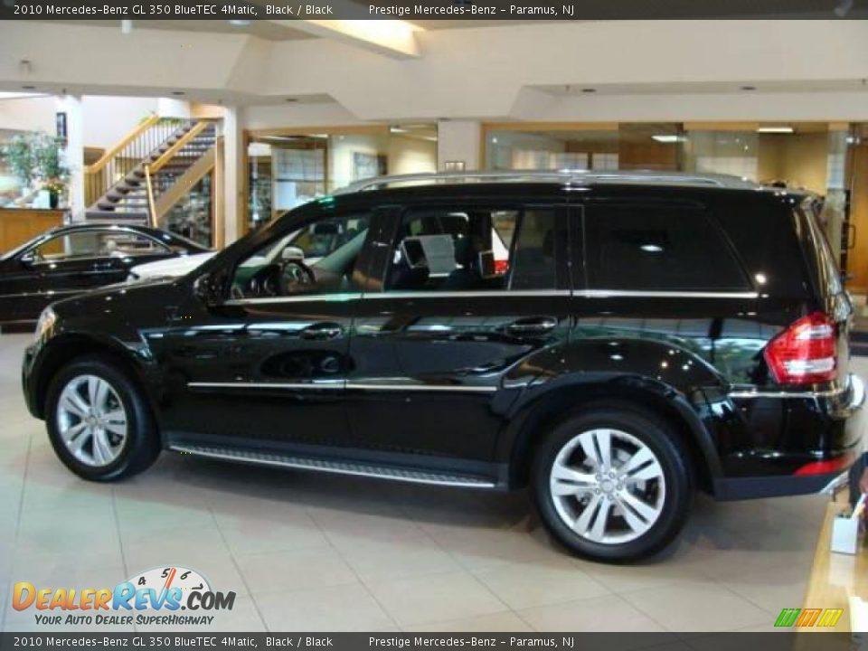 2010 mercedes benz gl 350 bluetec 4matic black black for Mercedes benz gl 500 4matic 2010