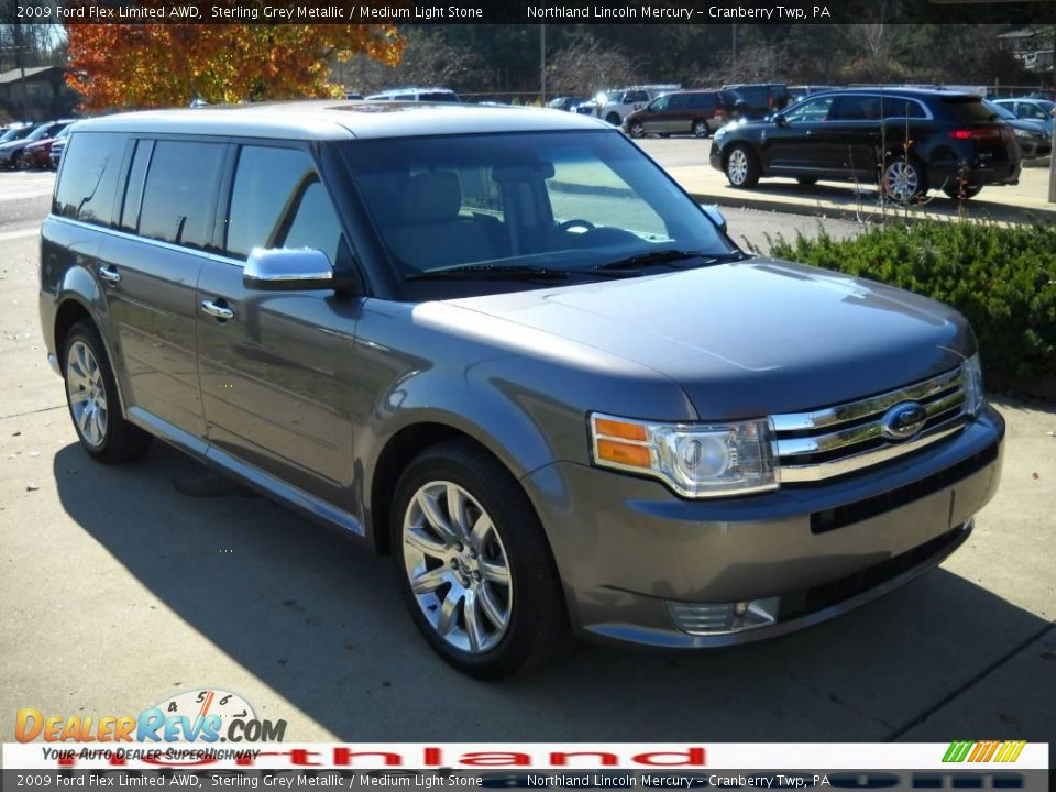 2009 ford flex limited awd sterling grey metallic medium. Black Bedroom Furniture Sets. Home Design Ideas