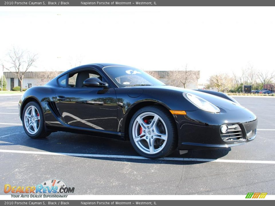 2010 porsche cayman s black black photo 3. Black Bedroom Furniture Sets. Home Design Ideas