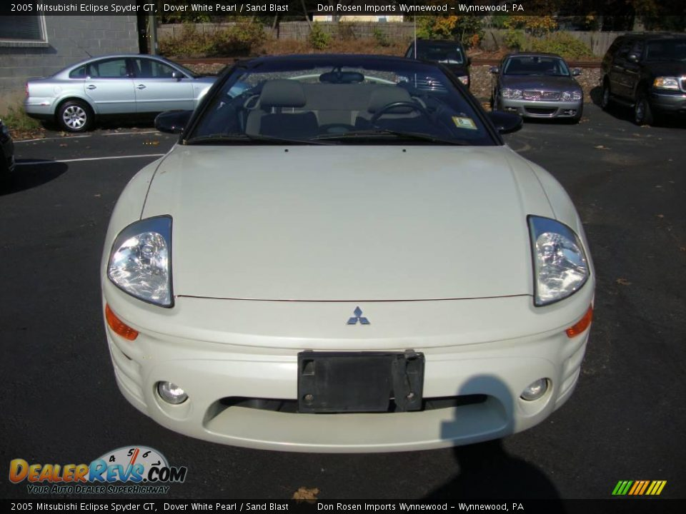 2005 mitsubishi eclipse spyder gt dover white pearl sand blast photo 3. Black Bedroom Furniture Sets. Home Design Ideas