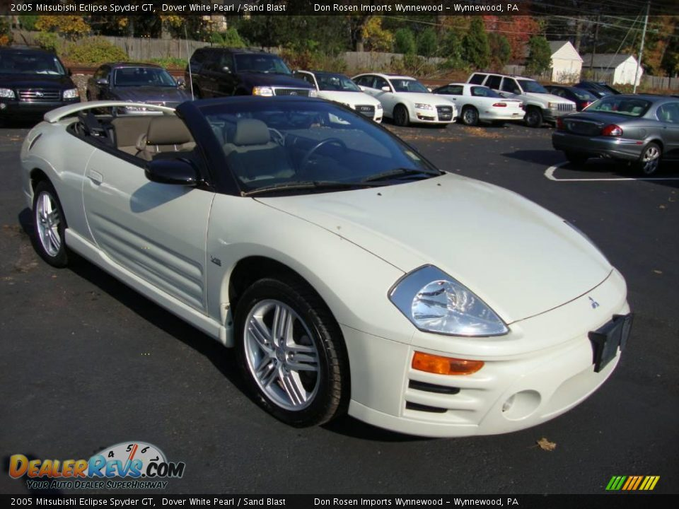 2005 mitsubishi eclipse spyder gt dover white pearl sand blast photo 4. Black Bedroom Furniture Sets. Home Design Ideas