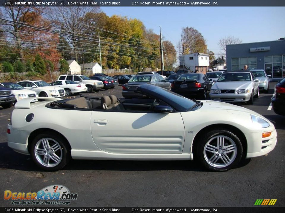 2005 mitsubishi eclipse spyder gt dover white pearl sand blast photo 6. Black Bedroom Furniture Sets. Home Design Ideas