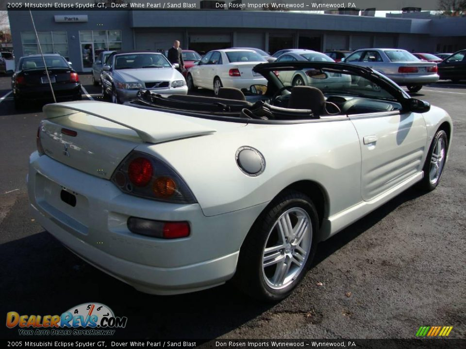 2005 mitsubishi eclipse spyder gt dover white pearl sand blast photo 7. Black Bedroom Furniture Sets. Home Design Ideas