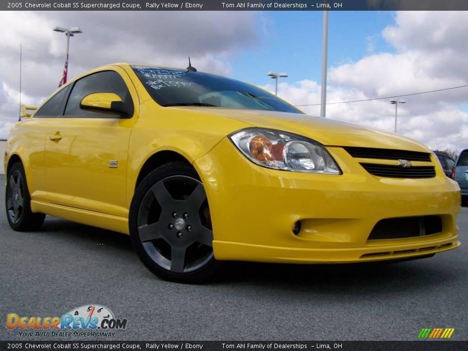 2005 Chevrolet Cobalt Ss Supercharged Coupe Rally Yellow