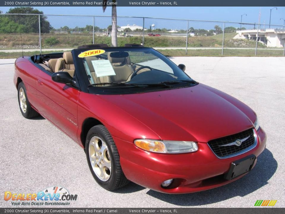 2000 chrysler sebring convertible jxi. Black Bedroom Furniture Sets. Home Design Ideas