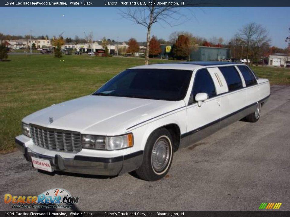 1994 cadillac fleetwood limousine white black photo 1 dealerrevs. Cars Review. Best American Auto & Cars Review