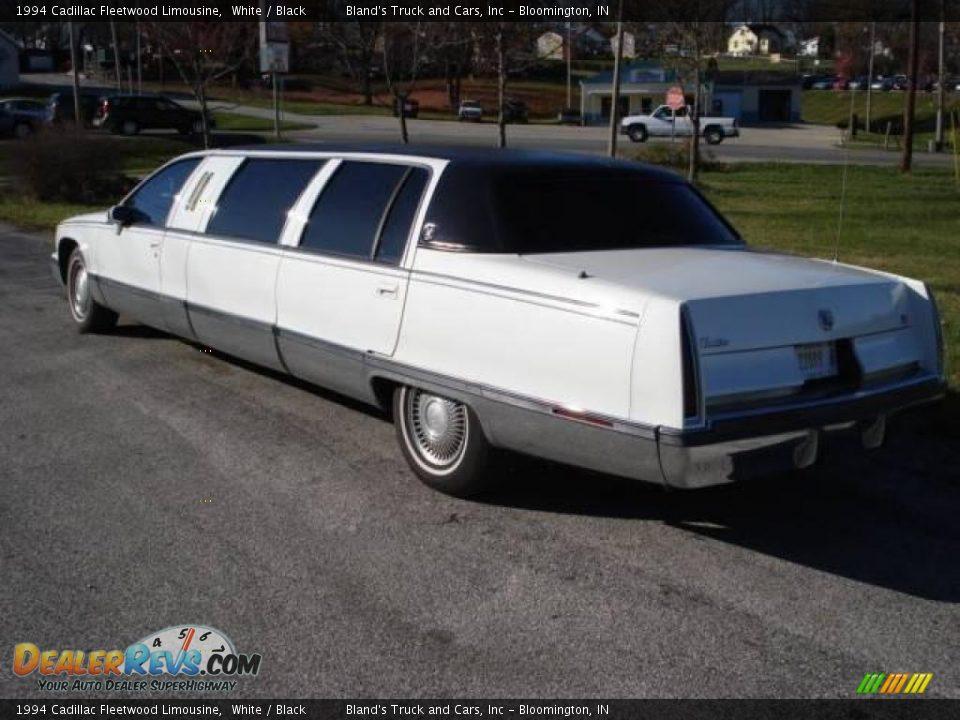 1994 cadillac fleetwood limousine white black photo 3 dealerrevs. Cars Review. Best American Auto & Cars Review