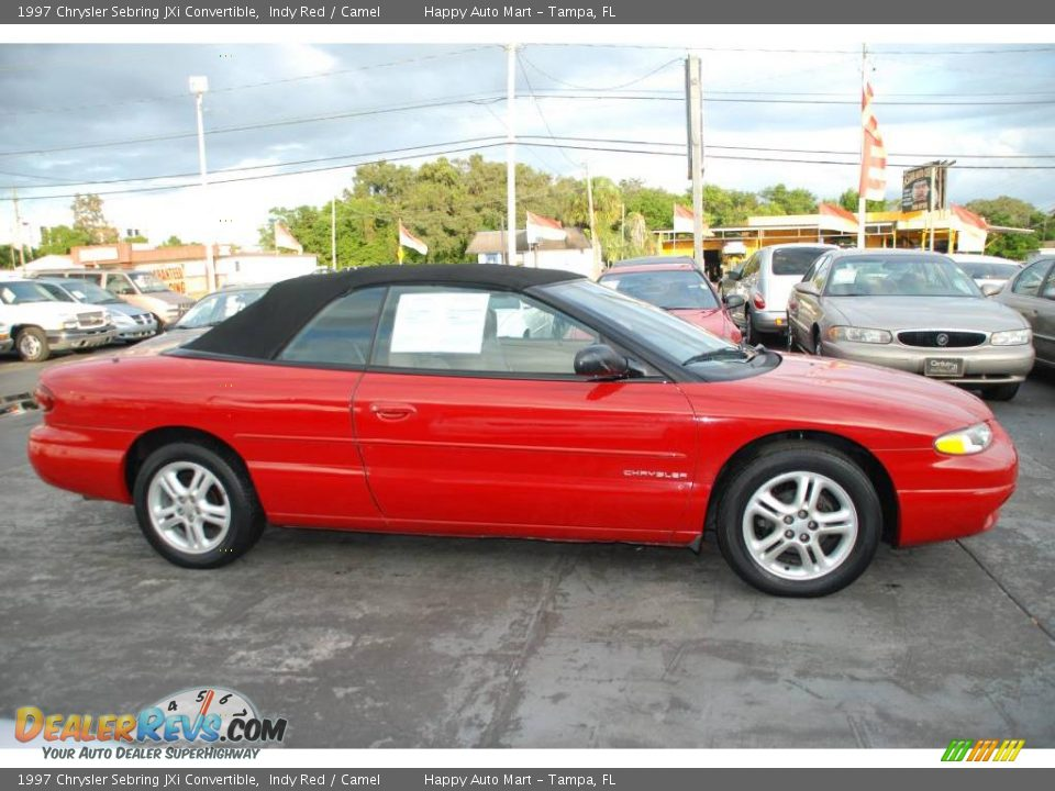 1997 chrysler sebring jxi convertible indy red camel. Cars Review. Best American Auto & Cars Review