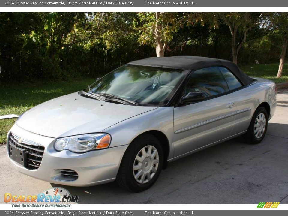 2004 chrysler sebring convertible bright silver metallic dark slate. Cars Review. Best American Auto & Cars Review