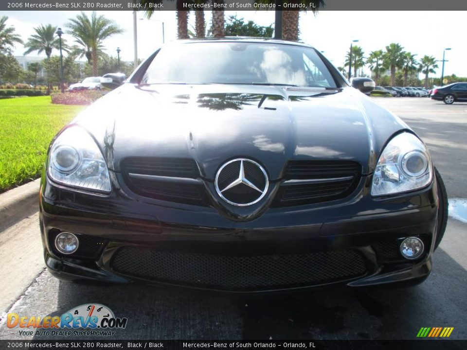 2006 mercedes benz slk 280 roadster black black photo 3. Black Bedroom Furniture Sets. Home Design Ideas