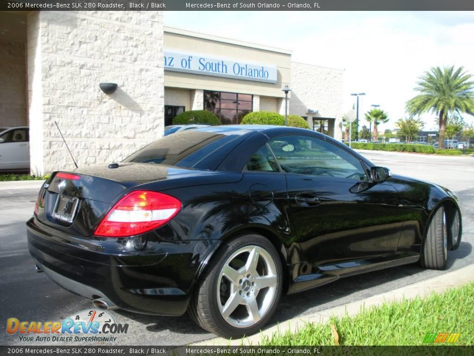 2006 mercedes benz slk 280 roadster black black photo 5 for Mercedes benz slk 2006