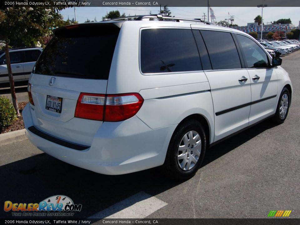 2006 Honda Odyssey LX Taffeta White / Ivory Photo #3   DealerRevs.com