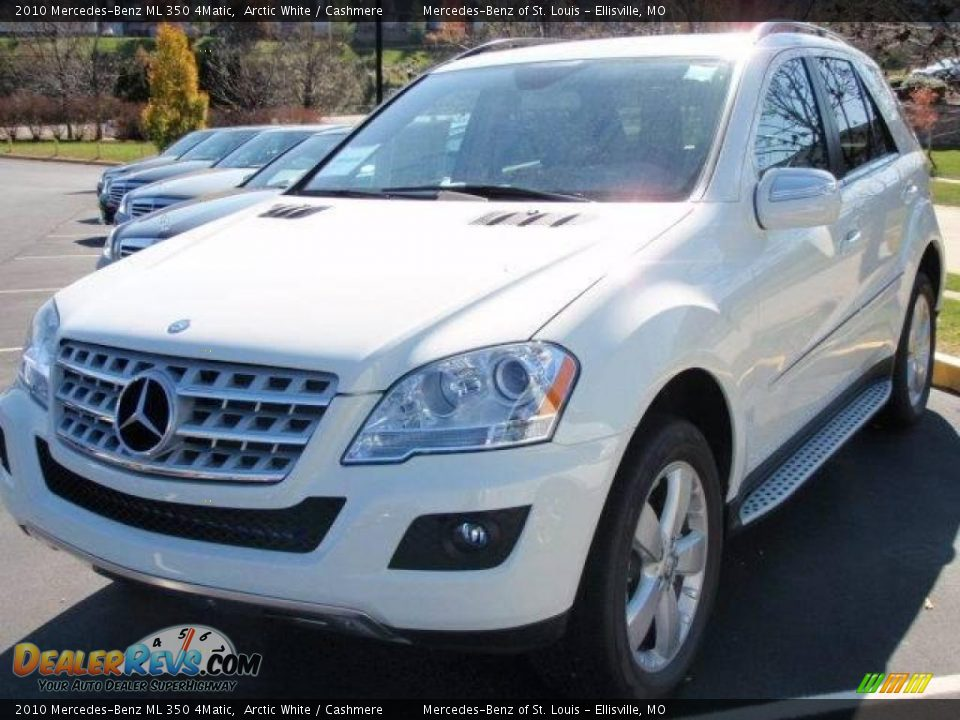 2010 mercedes benz ml 350 4matic arctic white cashmere photo 1. Black Bedroom Furniture Sets. Home Design Ideas