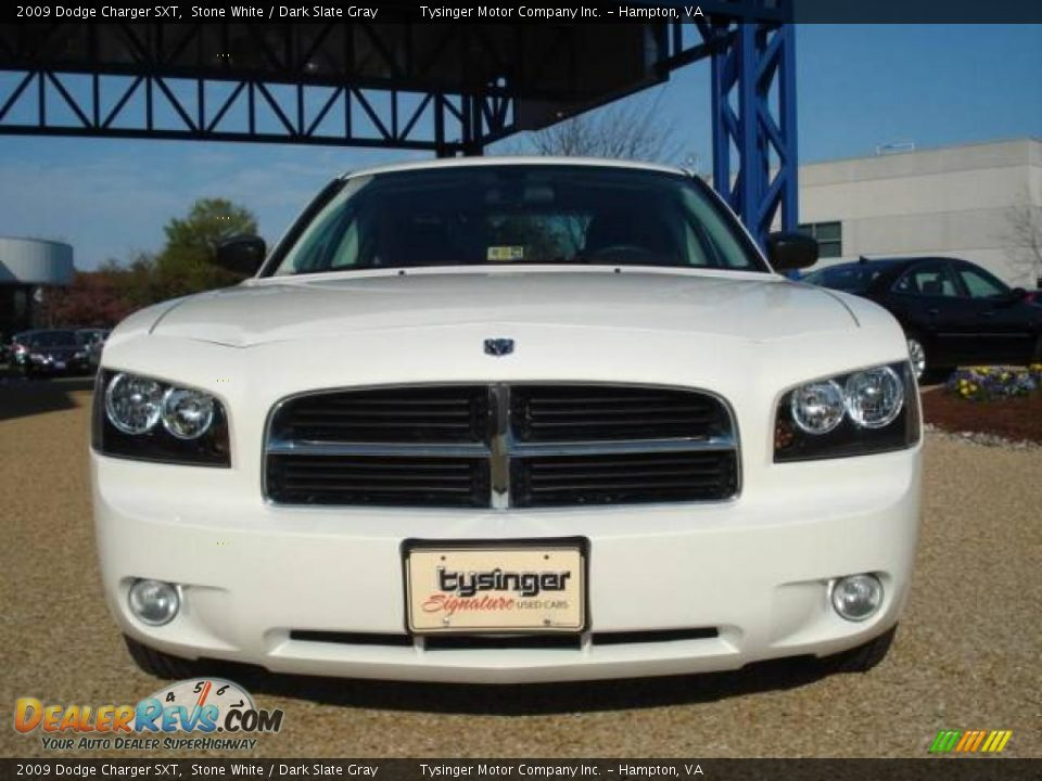2009 dodge charger sxt stone white dark slate gray photo. Black Bedroom Furniture Sets. Home Design Ideas