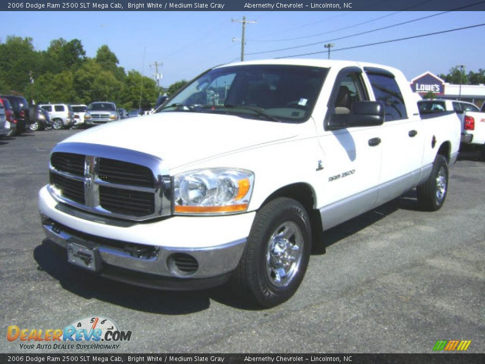 2006 Dodge Ram 2500 Slt Mega Cab Bright White Medium